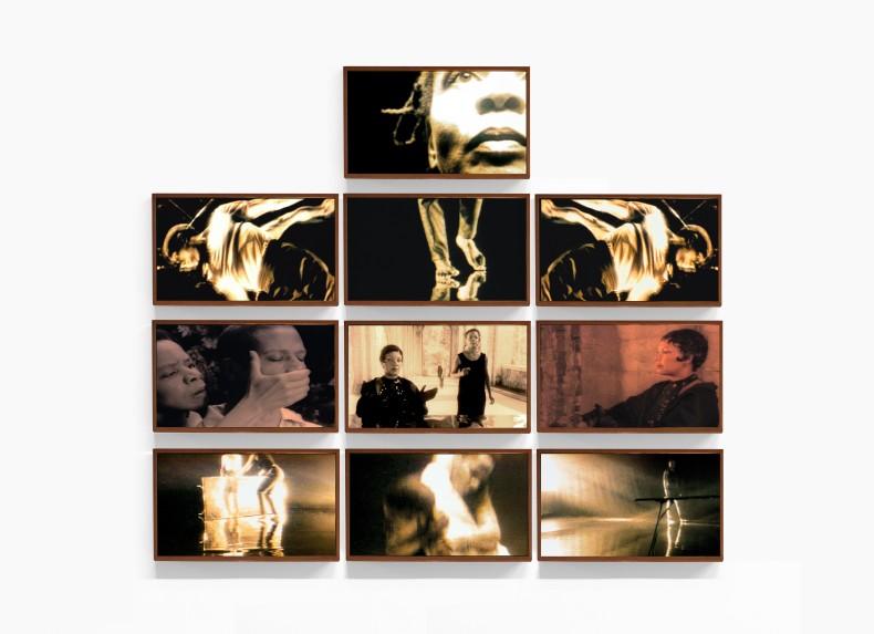 Isaac Julien Three (Untitled No. 1), 1999 impressão micro piezo sobre papel aquarelle 300gr / micro piezo prints on 300gsm...