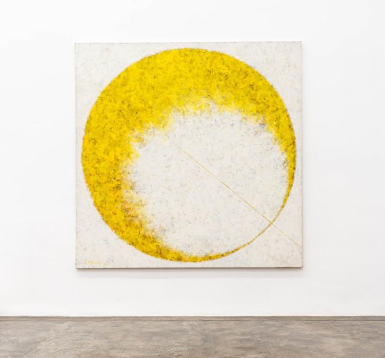 Tomie Ohtake Sem título, 1996 tinta óleo sobre tela / oil paint on canvas 200 x 200 cm / 78.7...