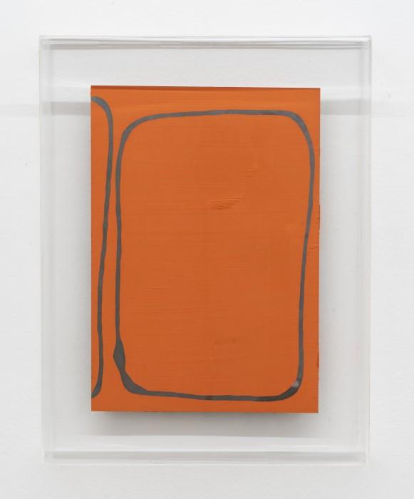Carlito Carvalhosa Untitled (P02/17), 2017 óleo sobre aluminio / oil paint on aluminium 30 x 20 cm / 11.8 x...