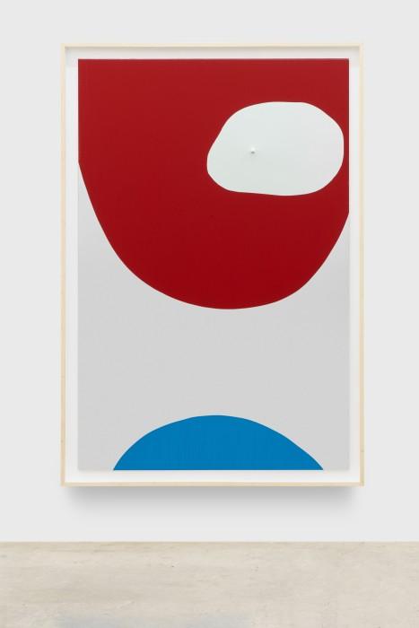 Carlito Carvalhosa Untitled (P27/20), 2020 óleo sobre aluminio espelhado / oil on mirrored aluminum 188 x 122 cm / 74...