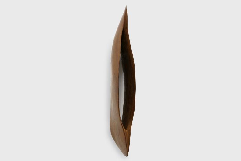 Marcelo Silveira Furo II, 2012 cajacatinga wood 75 x 12 x 25 cm | 29.5 x 4.7 x 9.8 in