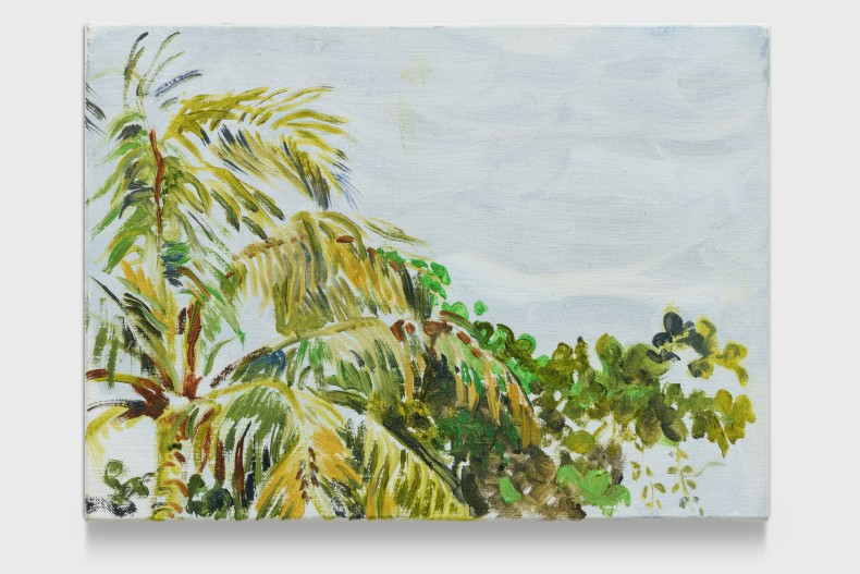 Maria Klabin Untitled, 2020 oil paint on linen 18,3 x 25 x 2,5 cm | 7.2 x 9.8 x 1...
