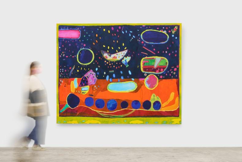 Bruno Dunley Terra deu, Terra come, 2020/2021 oil paint on canvas 200 x 250 cm | 78.7 x 98.4 in