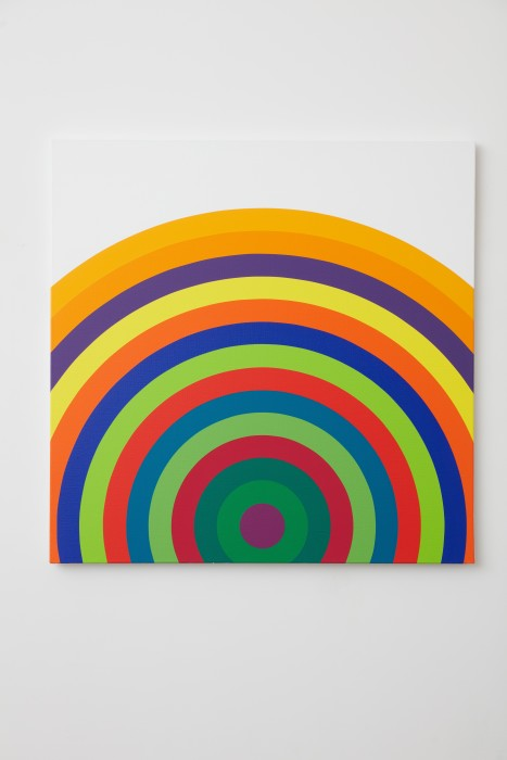 Julio Le Parc Partiel de: Serie 16 n° 9, 2020 acrylic paint on canvas 80 x 80 cm | 31.5...