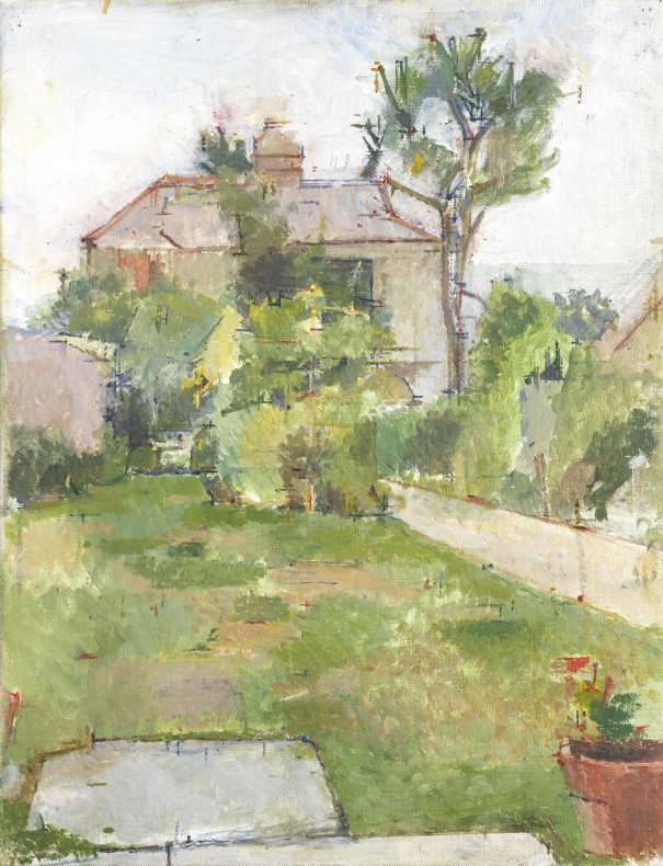 William Coldstream, Garden in Falmouth, 1977