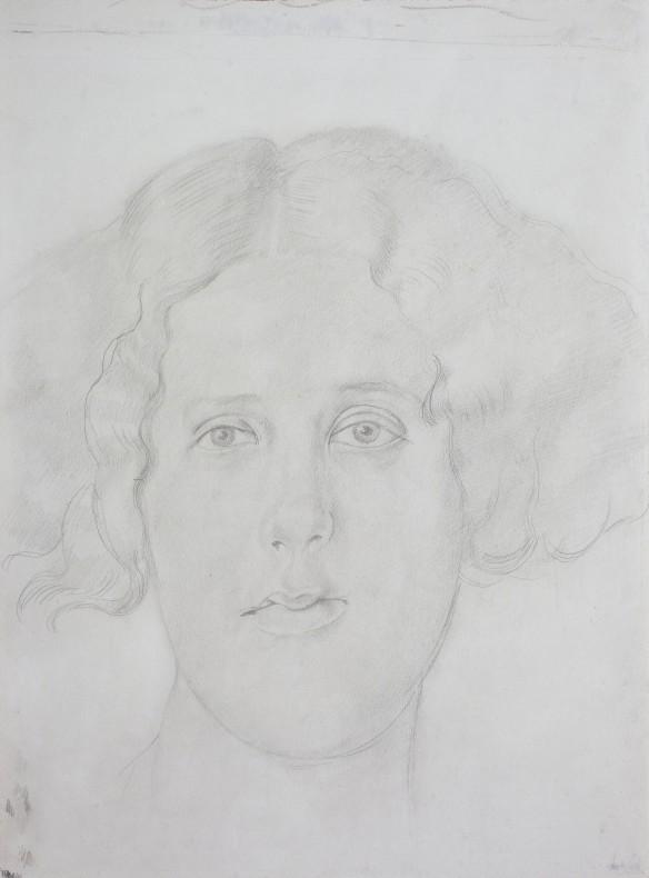 Sir Stanley Spencer, Portrait of Doreen Harter, 1941 c.