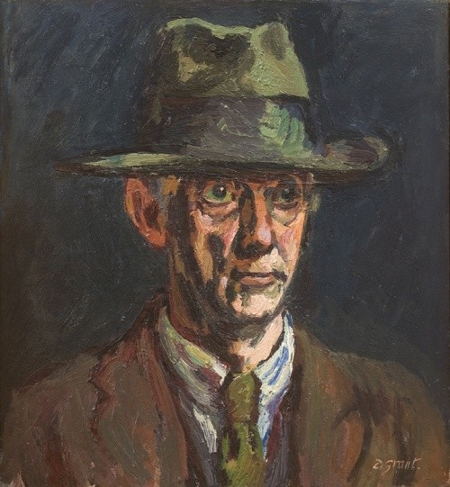 <span class=%22title%22>Madman in a Hat<span class=%22title_comma%22>, </span></span><span class=%22year%22>c. 1948</span>
