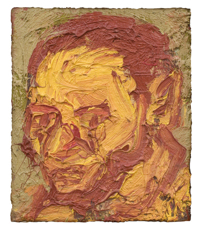 Leon Kossoff, Self-Portrait, 1971
