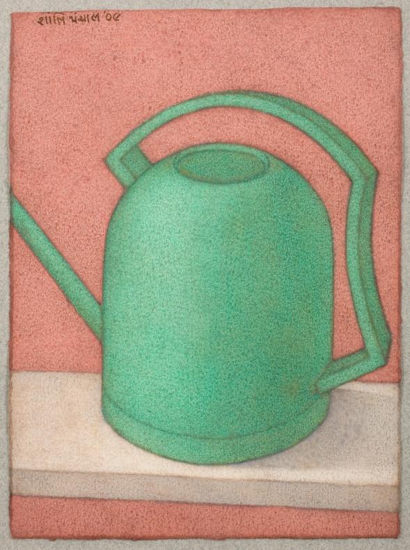 Shanti Panchal, Watering Can-Green, 2009