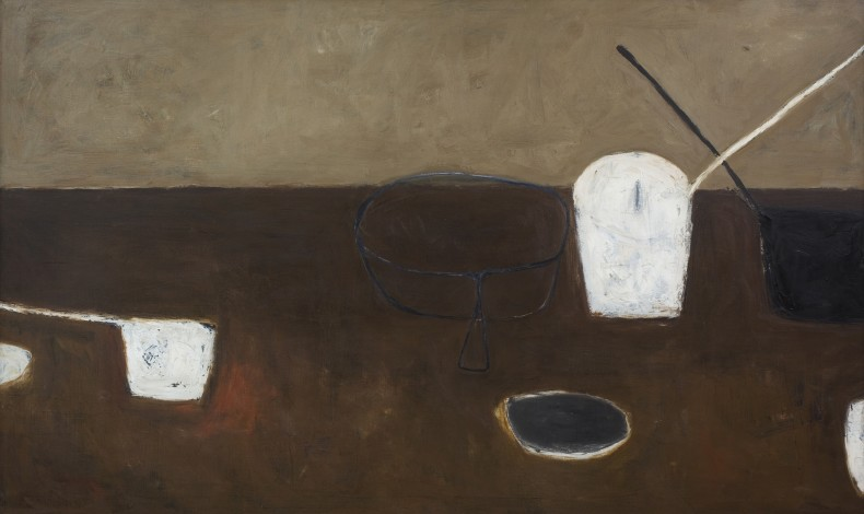 William Scott, Brown Still Life, 1956