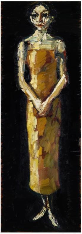 Thomas Newbolt, Orange Dress, 2010