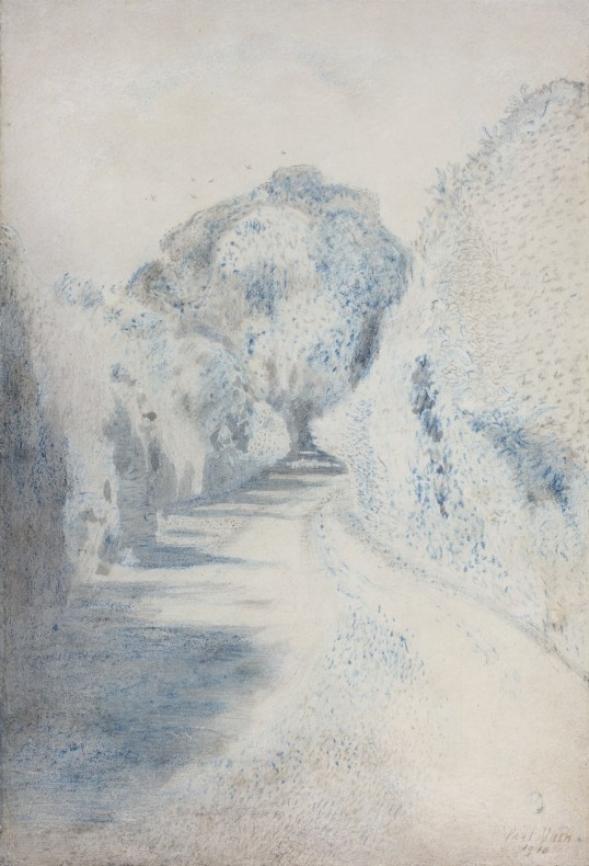 Paul Nash, A Lane in Blue, 1910