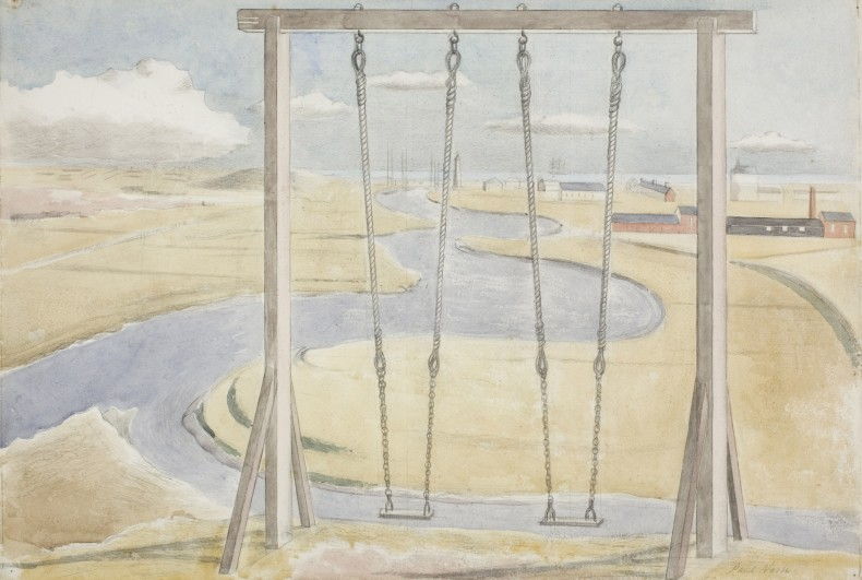 Paul Nash, River, 1932