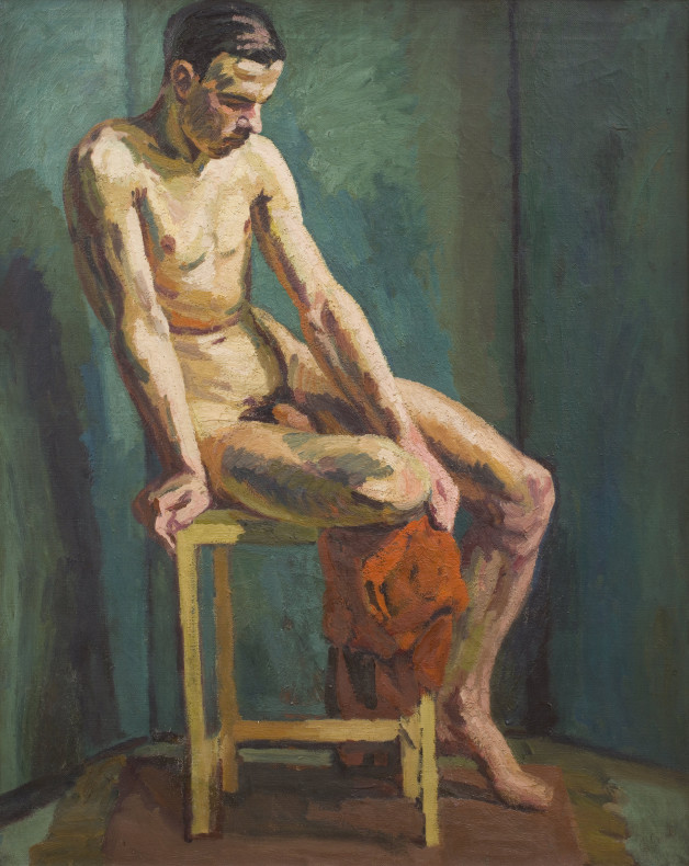 <span class=%22title%22>Seated Male Nude<span class=%22title_comma%22>, </span></span><span class=%22year%22>1938 c. </span>