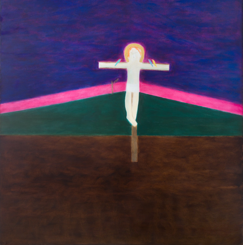 <span class=%22title%22>Crucifixion 8<span class=%22title_comma%22>, </span></span><span class=%22year%22>1985-86</span>