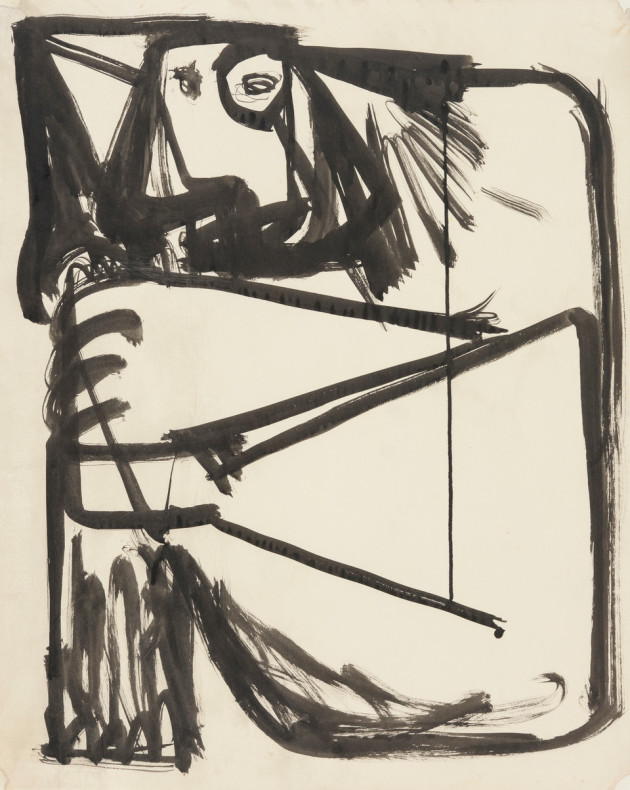 Anthony Caro, Baby with a Ball, 1954