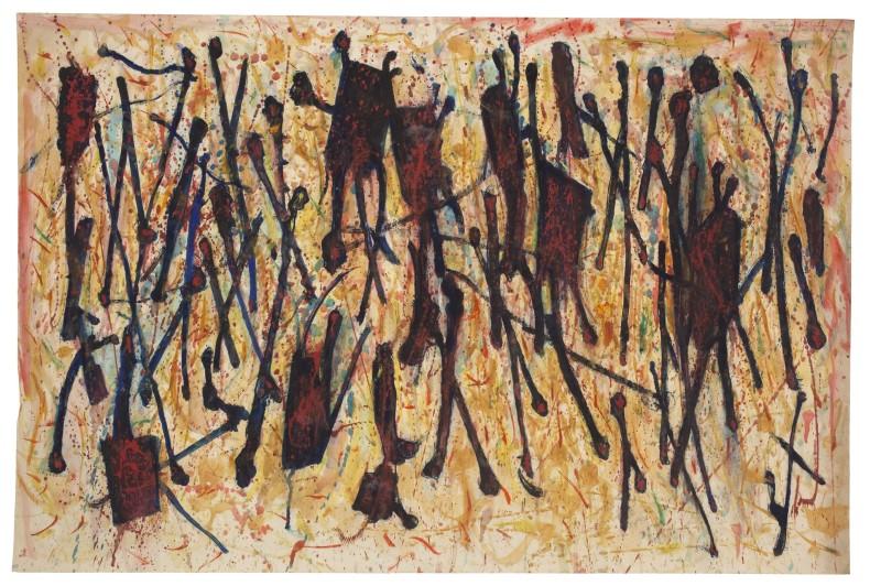 Leo Davy, Elements du Sans Humain, 1954