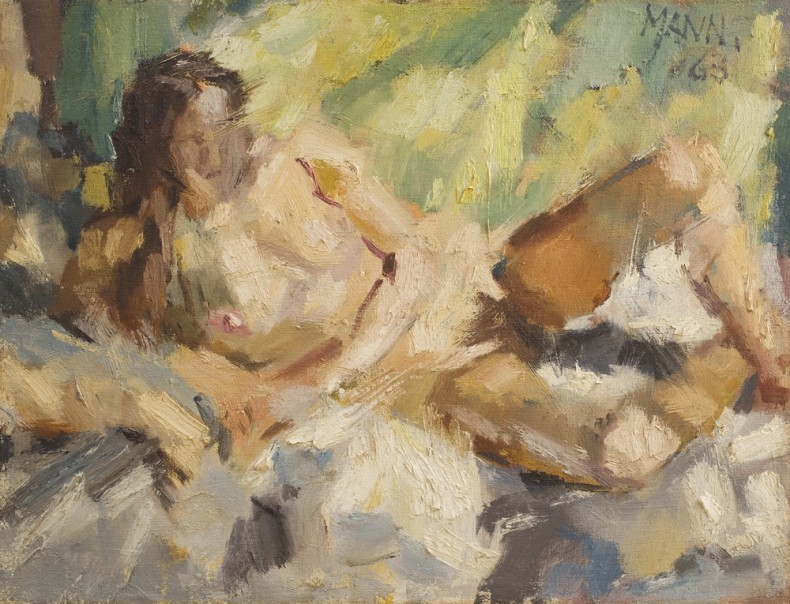 <span class=%22title%22>Reclining Nude I<span class=%22title_comma%22>, </span></span><span class=%22year%22>1963</span>