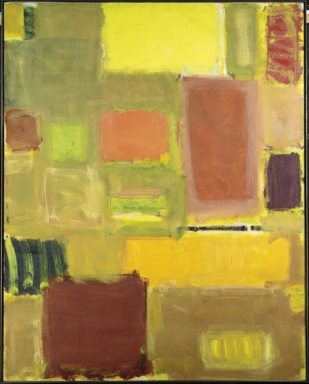 <span class=%22title%22>Yellow painting with orange and brown-ochre squares<span class=%22title_comma%22>, </span></span><span class=%22year%22>1959</span>