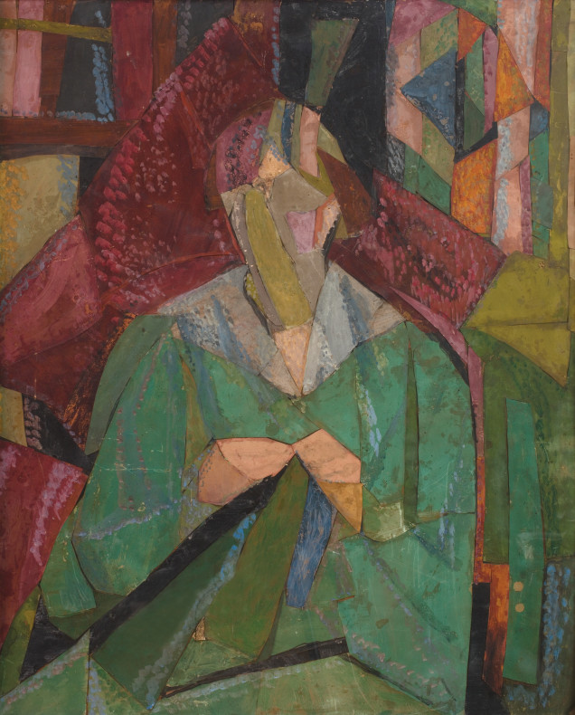 Vanessa Bell, Portrait of Molly MacCarthy, 1914-15