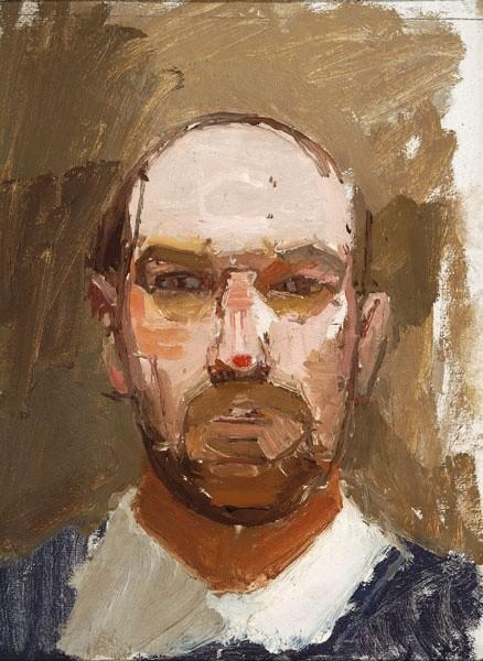 Euan Uglow, Self-Portrait, 1963