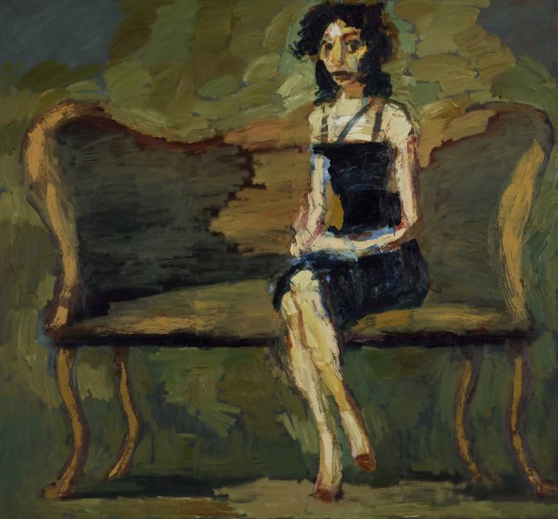 Thomas Newbolt, Figure (Black Dress), 2015