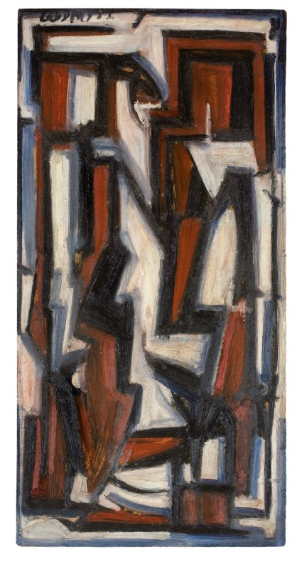 <span class=%22title%22>Red Black Seated Figure<span class=%22title_comma%22>, </span></span><span class=%22year%22>1952</span>