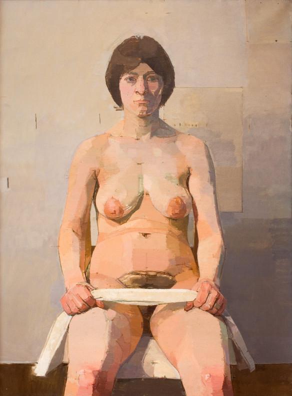 Euan Uglow, Miss Venne, 1966-1967