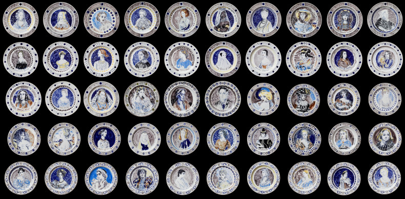 Vanessa Bell and Duncan Grant, The Famous Women Dinner Service, 1932-34
