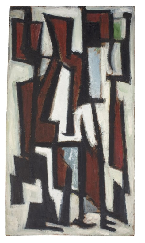 Leo Davy, Seated Figures I, 1952