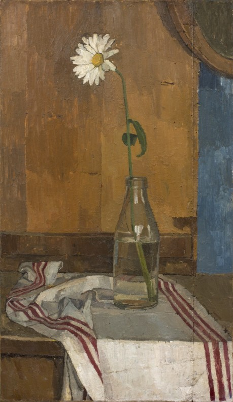 Euan Uglow, Daisy in a Milk Bottle, 1953