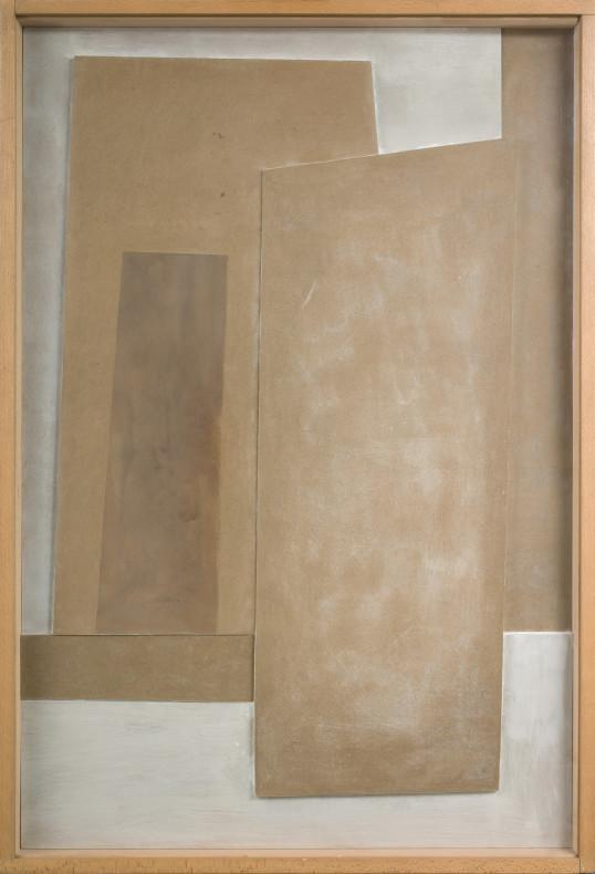 Ben Nicholson, July 1977 (vertical landscape), 1977