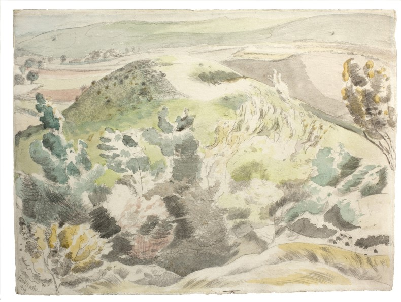 Paul Nash, Windy Hill, 1919