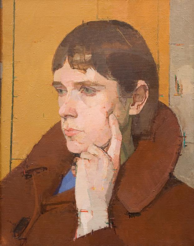 Euan Uglow, Head of Christine, 1964