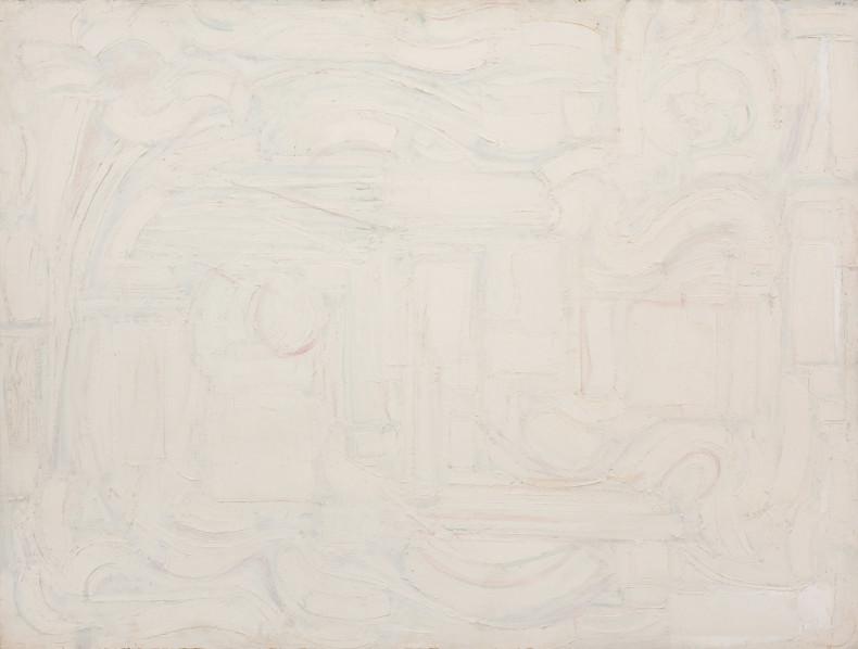 Leo Davy, White Painting II, 1986