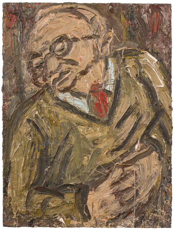 Leon Kossoff, Portrait of Chaim No. 2, 1987