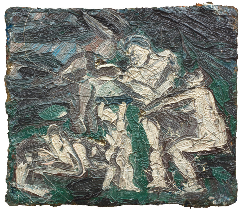 "Leon Kossoff, Study for Copy of ""Cephalus and Aurora"" by Poussin No. 1, 1976"