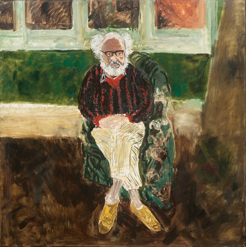 <span class=%22title%22>Portrait of John Bratby Seated<span class=%22title_comma%22>, </span></span><span class=%22year%22>c. 1970</span>