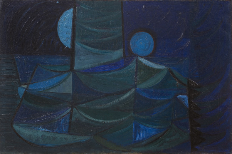 Terry Frost, Blue Green Movement, 1952