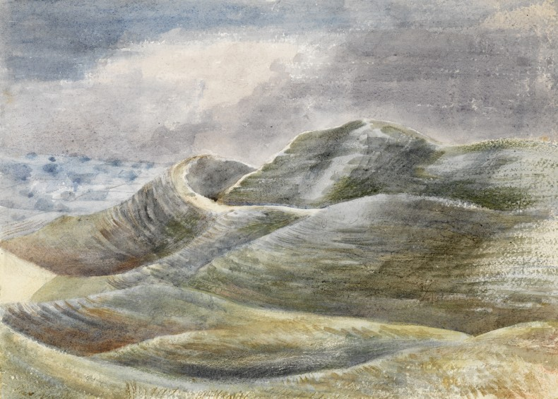 Paul Nash, Maiden Castle, 1943