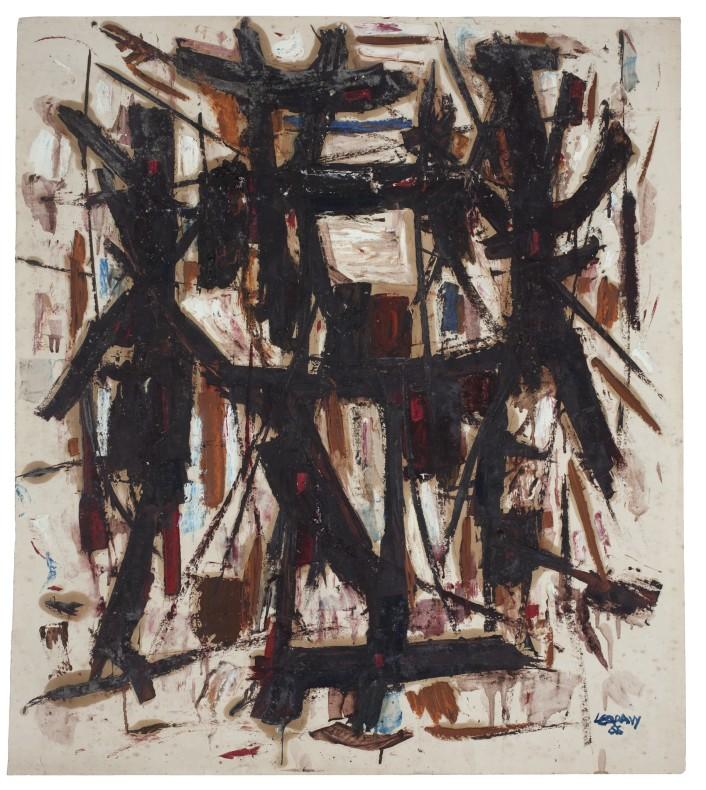 Leo Davy, Figures Deconstructed, 1956