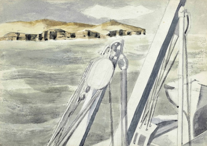 Paul Nash, Coast Near Gibraltar, 1934