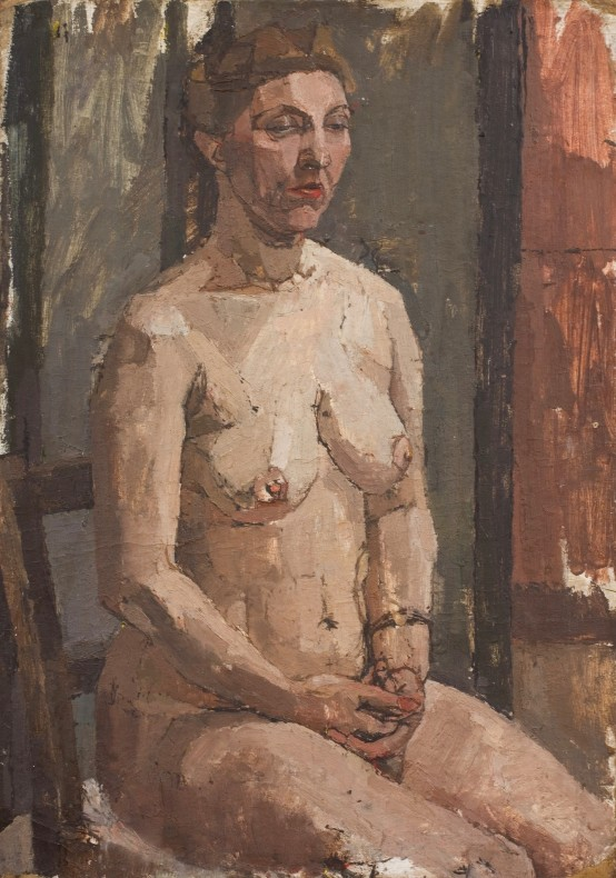 <span class=%22title%22>Seated Nude<span class=%22title_comma%22>, </span></span><span class=%22year%22>1954 c.</span>