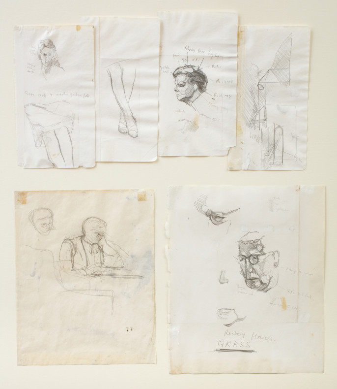 <span class=%22title%22>Group of Studies for 'The Family in the Garden'<span class=%22title_comma%22>, </span></span><span class=%22year%22>1960</span>