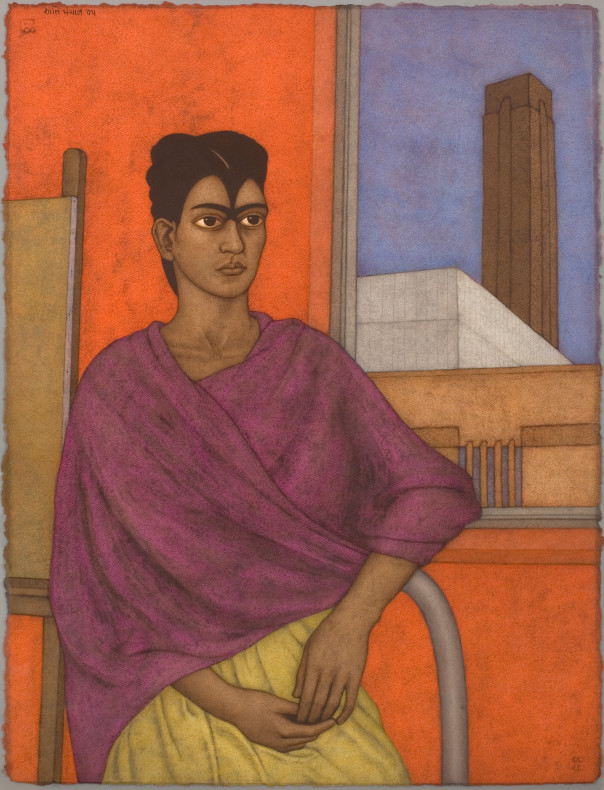 Shanti Panchal, Frida at Tate Modern, 2005