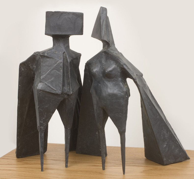 <span class=%22title%22>Maquette VIII Two Winged Figures<span class=%22title_comma%22>, </span></span><span class=%22year%22>1973 </span>