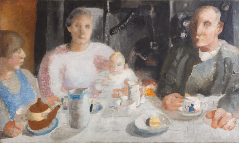 Winifred Nicholson, The Warwick Family, 1925-26 c.