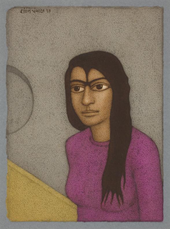 Shanti Panchal, On Stairs, 2013