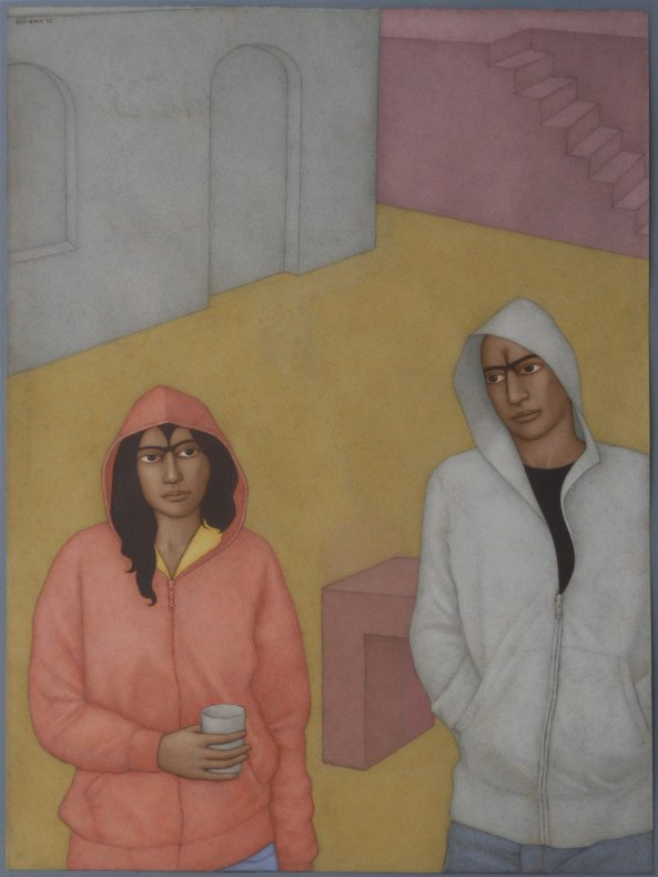 Shanti Panchal, Hoodies in the Square, 2011