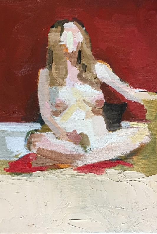 S. K. Dunbar, Self Portrait, 2016